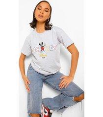 mickey mouse disney license t-shirt, grey marl