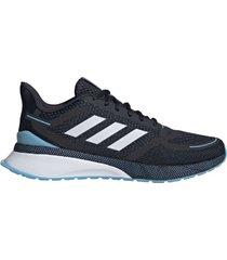 zapatilla negra adidas nova run