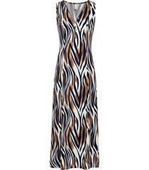 abito elasticizzato (marrone) - bodyflirt boutique