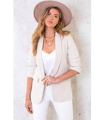 limited blazer beige