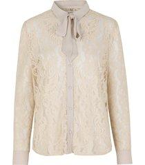 beige rosemunde shirt ss shirts