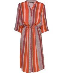 sl zaya dress knälång klänning orange soaked in luxury