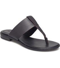 cherrybrook thong shoes summer shoes flat sandals svart timberland