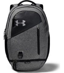 mochila negra under armour hustle 4.0