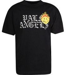 palm angels burning head logo t-shirt