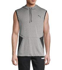 pivot sleeveless hoodie