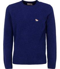 maison kitsune sweater