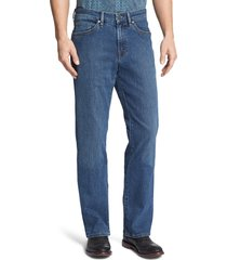men's 34 heritage charisma relaxed fit jeans, size 42 x 30 - blue