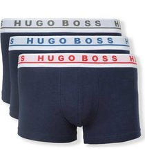 3-pack boxer shorts in stretch cotton assorted