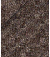 giacca da uomo su misura, vitale barberis canonico, flanella marrone twill, autunno inverno | lanieri