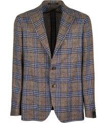 tagliatore large checked jacket blazer