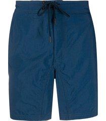 etro drawstring swim shorts - blue
