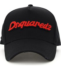 dsquared2 baseball cap logo embroidery
