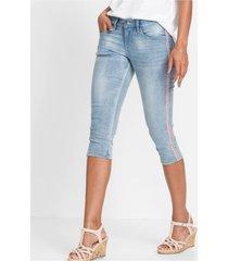capri jeans met studs
