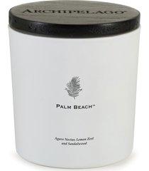 archipelago botanicals palm beach luxe candle