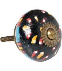 puxador de cerâmica luca