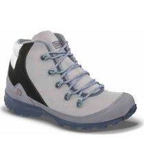 botas outdoor vegain gris para mujer croydon