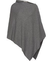 riannapw po poncho regnkläder grå part two