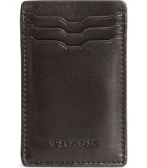 men's trask dawson leather front pocket wallet -