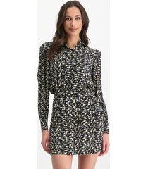 lofty manner blouse julie white black -