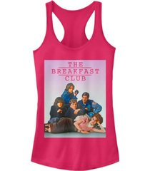 fifth sun juniors breakfast club group pose faded background ideal racer back tank