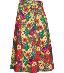 stellagz skirt ms20 knälång kjol multi/mönstrad gestuz