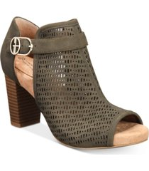 giani bernini jaccee memory-foam perforated shooties, created for macy's women's shoes