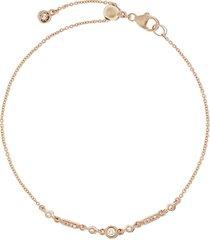 astley clarke 14kt gold diamond mini icon nova bracelet - yellow gold