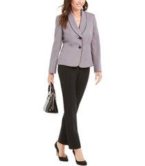 le suit shawl-collar jacket pantsuit