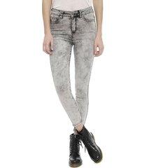 jeans ellus cropped gris - calce regular