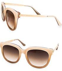 piper 55mm round sunglasses