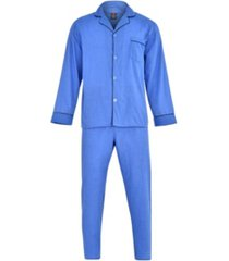 hanes men's big and tall cvc broadcloth pajama set