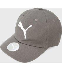 gorra gris-blanco puma essentials