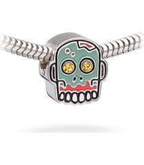 enamel zombie walking dead crystal the european charm bead fits all major brands