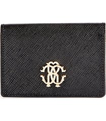 crest leather flap wallet