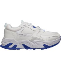 scarpe sneakers uomo in pelle c-run 3000