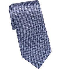 wave print tie