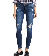 dl1961 women's florence distressed skinny jeans - strive - size 26 (2-4)