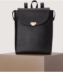matt & nat idzel flap over backpack, black