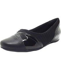balerina negra comfortflex