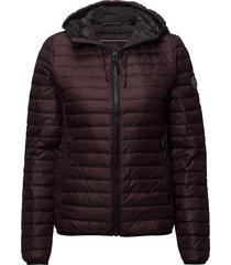 core down hooded jacket gevoerd jack bruin superdry