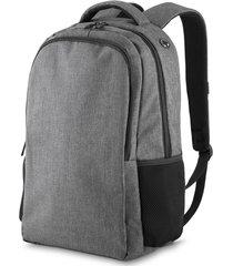 mochila para notebook topget tgm14  cinza escuro mesclado - kanui