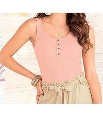 blusa dalya rosa para mujer croydon