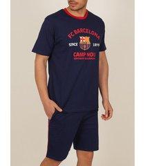 polo shirt korte mouw admas for men pyjama shorts t-shirt camp nou fc barcelona admas