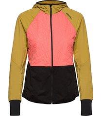 adv warm tech jkt w outerwear sport jackets orange craft