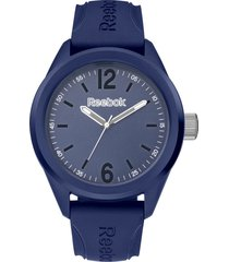 reloj  spindrop speed azul oscuro reebok