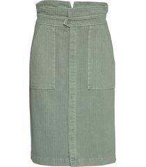 alie knälång kjol grön custommade