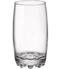 conjunto copos long drink galassia bormioli com 3 peças 415ml
