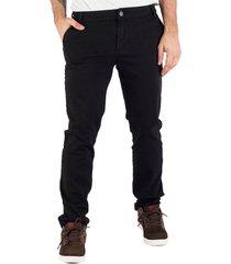 calça prime sarja chino preta