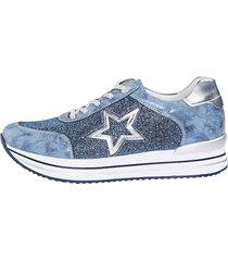 sneakers remonte blå